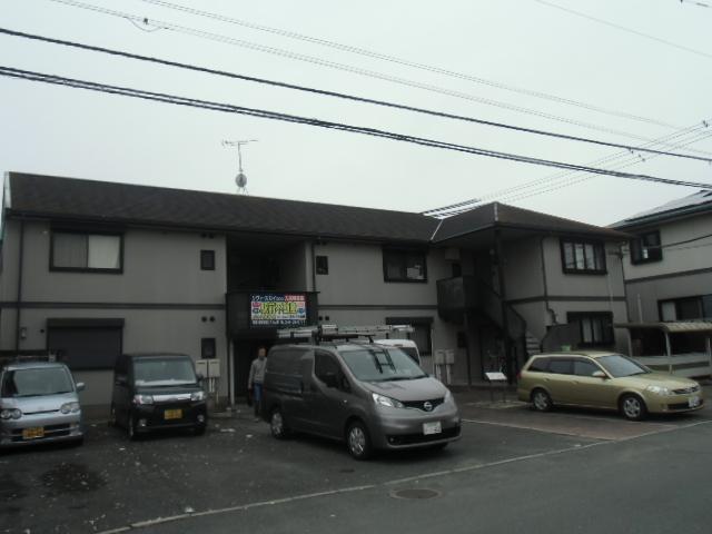 福岡県久留米市アパート塗装工事