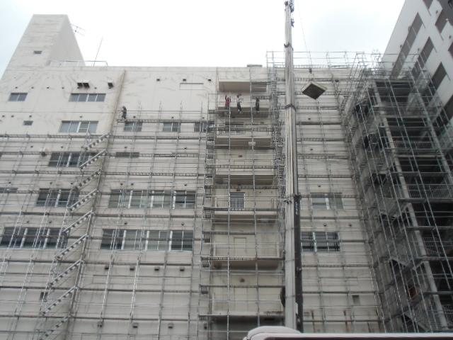 福岡市ビル大規模改修工事