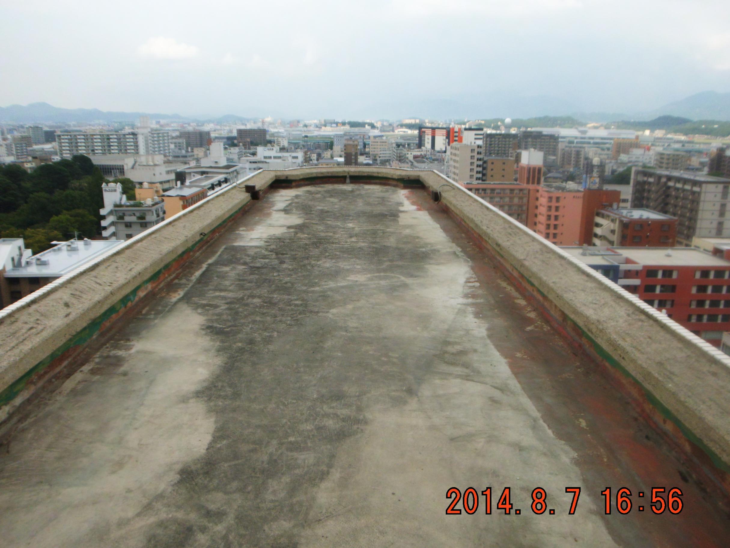 福岡市ビル屋上防水工事