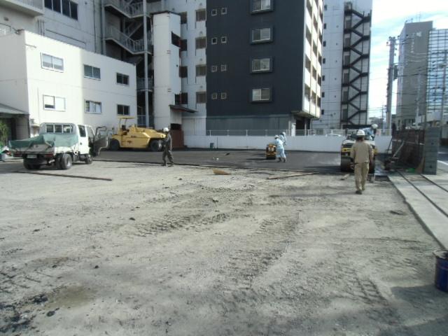 福岡市駐車場舗装工事