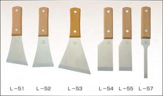 木柄ステンレス鋼皮スキシリーズ