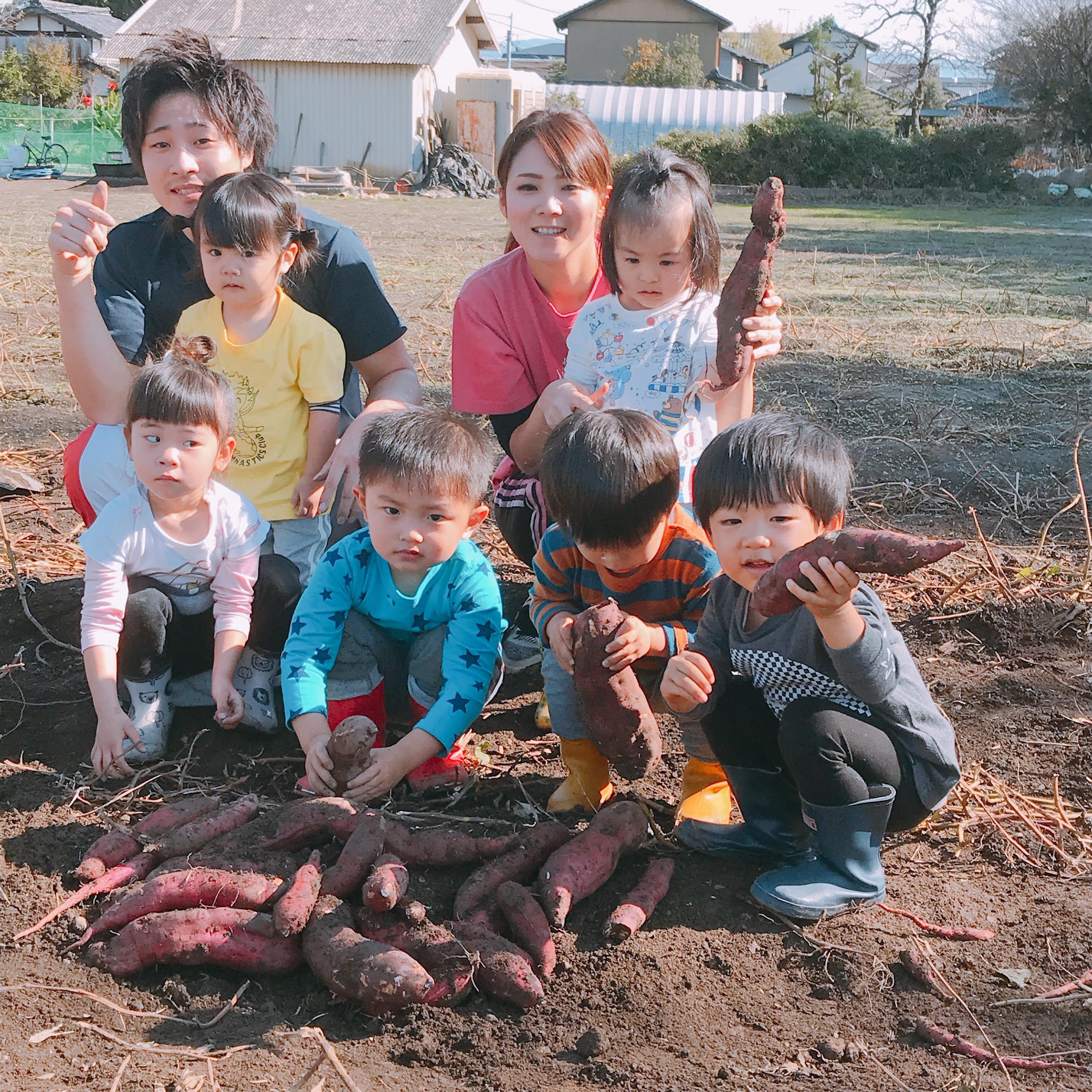 お芋掘り3期生画像11