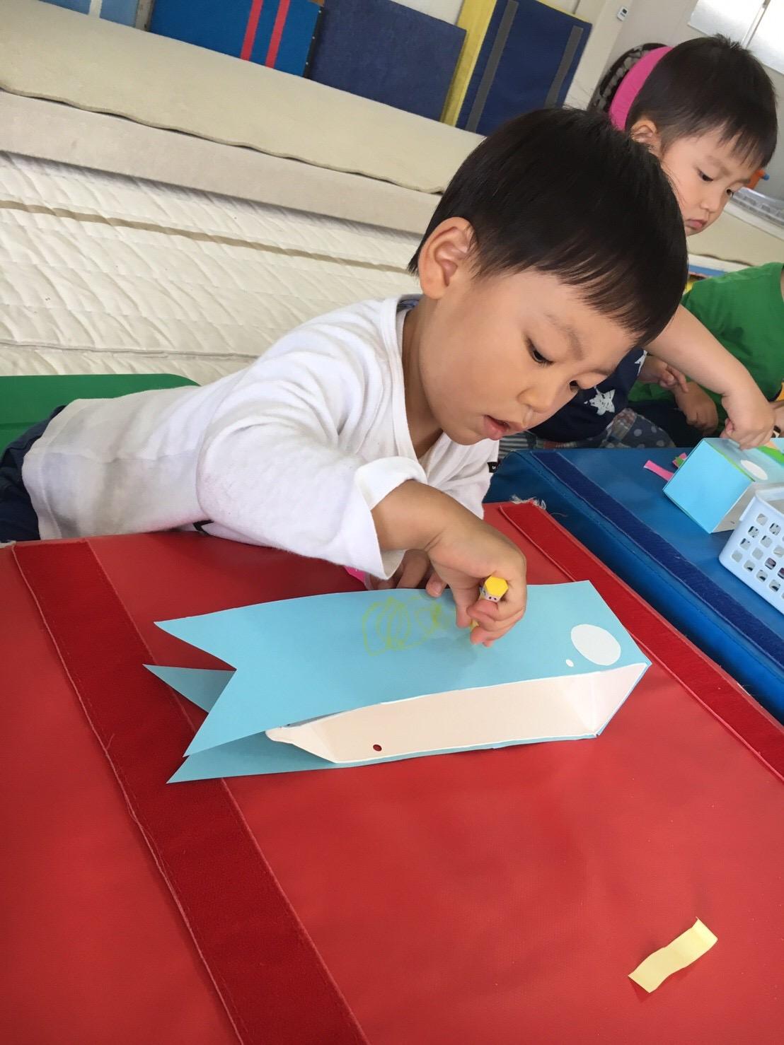 鯉のぼり作製🎏画像3