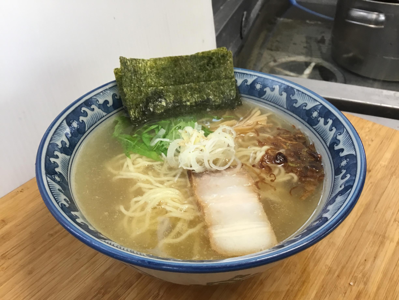 隠國らぁ麺(塩)