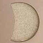 6-10(特選品) ホワイト月形