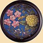 9-7(特選品) 四君子丸 七宝底紫明