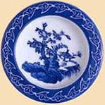 23-6(中級品) 陶楽唐草山水丸