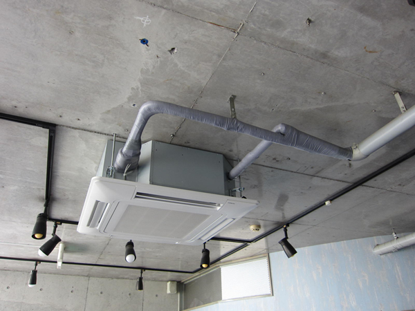 施工例 店舗エアコン