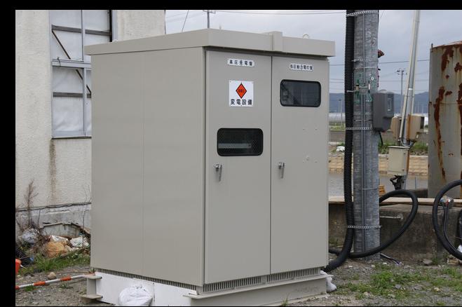 施工例 高圧受電設備