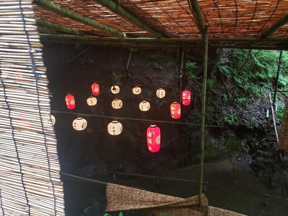 京都瓦研修→涼みに貴船へ。