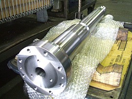 工作機械用メインシャフト (S45C)