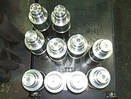 産業機械用スプラインシャフト (SCM415H)