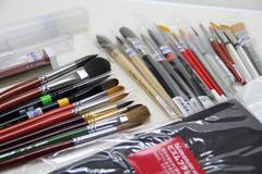 水彩・アクリル画筆