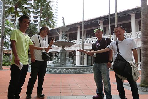 2014年10月シンガポール社員旅行