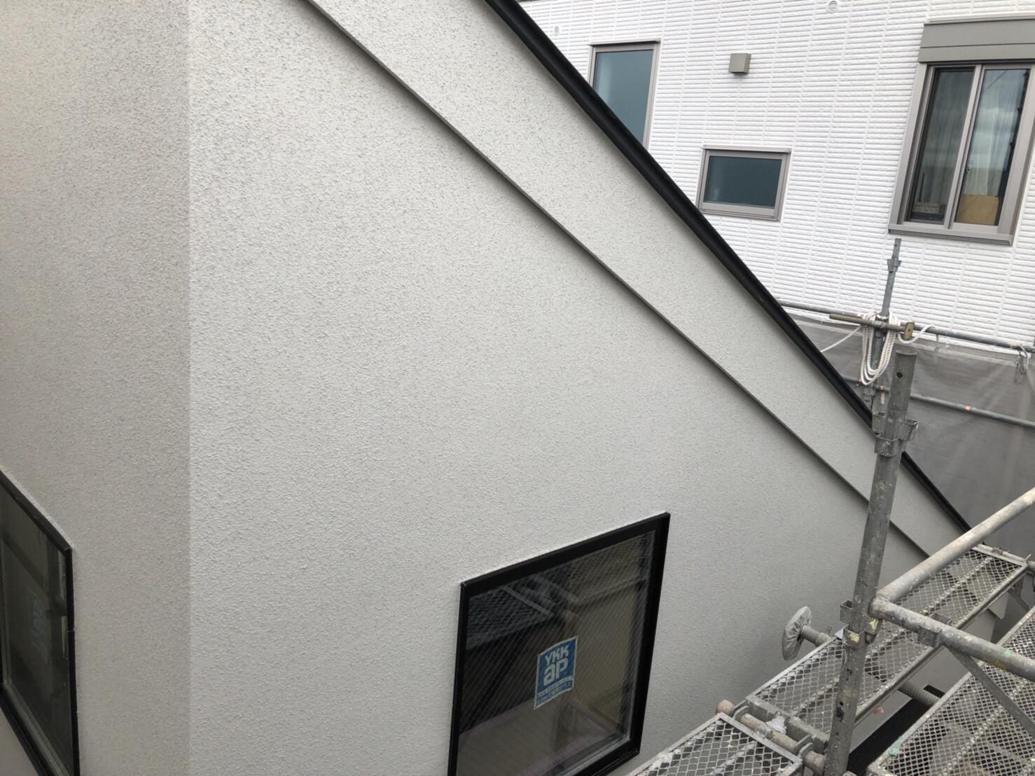 世田谷区新築工事K様邸(吹き付け)