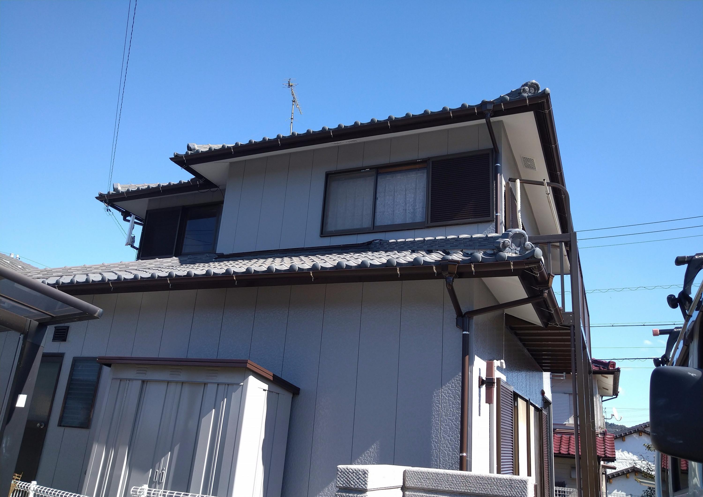 岡崎市I様邸/外壁塗装・樋交換工事