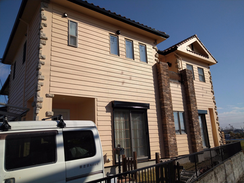 岡崎市M様邸/外壁塗装