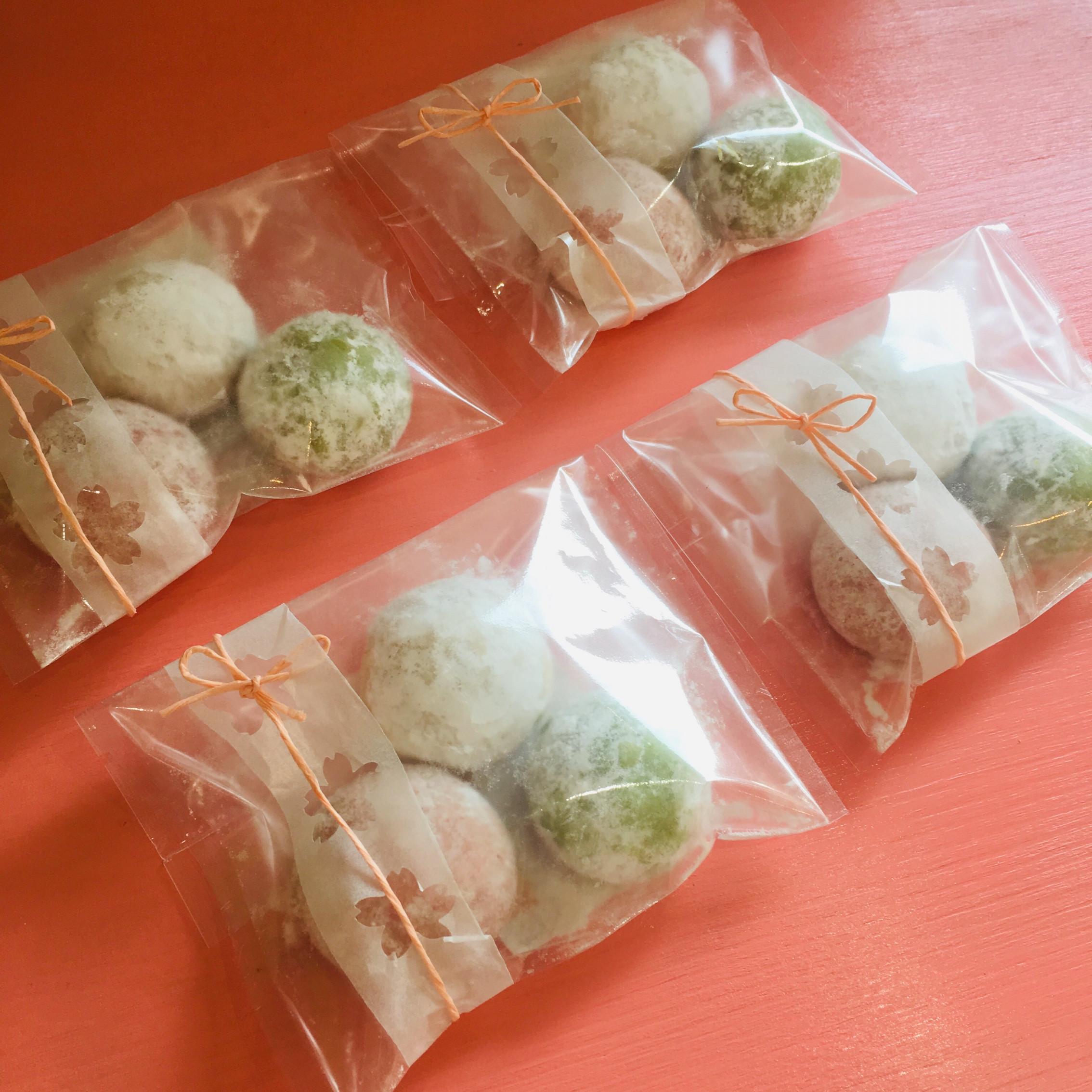 3種類のお味♡ いちご、抹茶、プレーン♡>