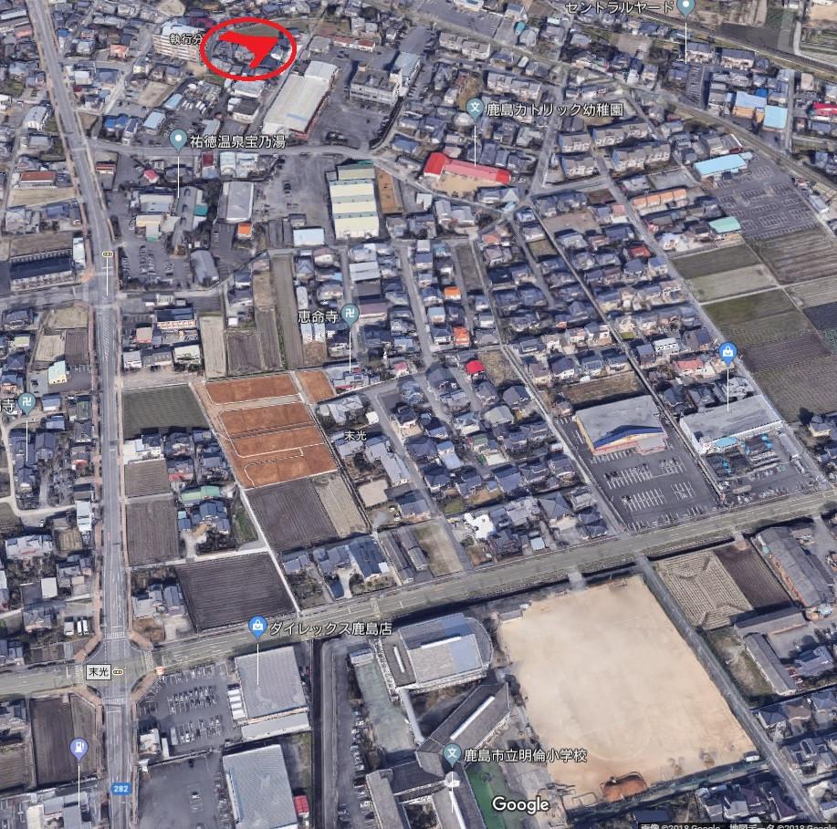 ◆鹿島市【売地】 執行分分譲地Ⅲ 2区画のみ! 平成30年2月完成予定!