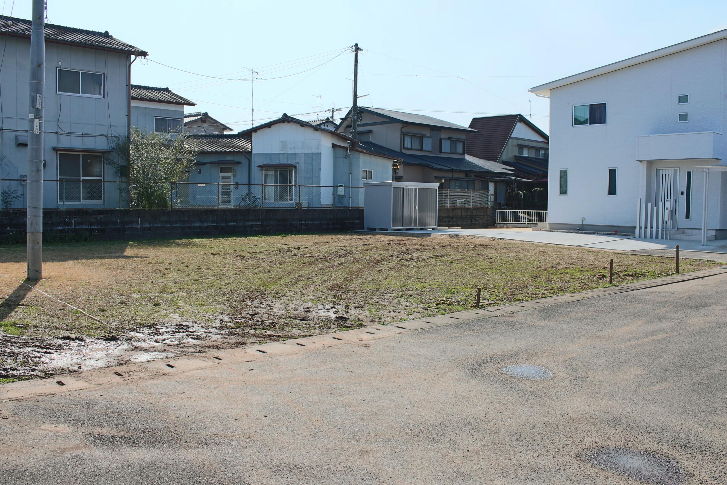 ◆【売地】鹿島市犬王袋分譲地 5号地です。Aコープかしま本店まで約1200mです。