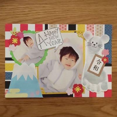 11月22日開催☆手形アート&フォト年賀状