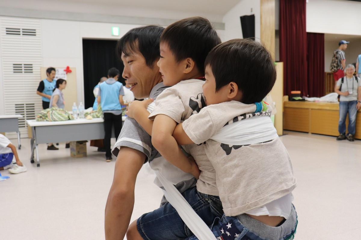 いわた親子防災フェスタ!大成功(^^)v