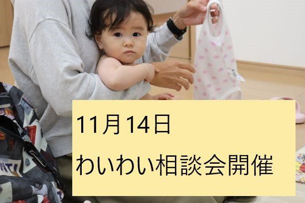 11月14日わいわい相談会開催☆