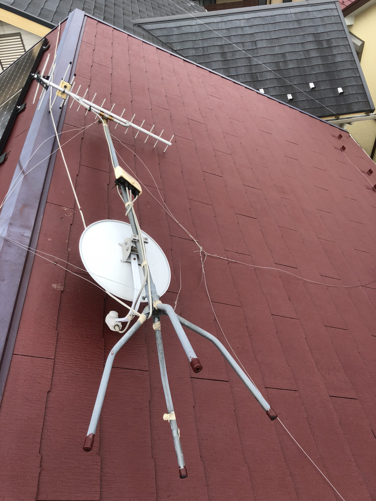 アンテナ工事画像