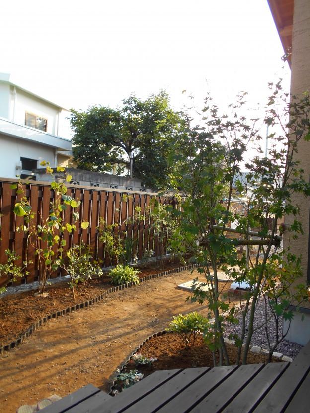 四季を楽しむ平庭 4施工後