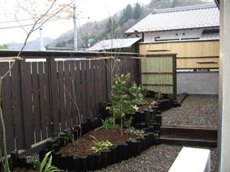 屋上庭園施工後