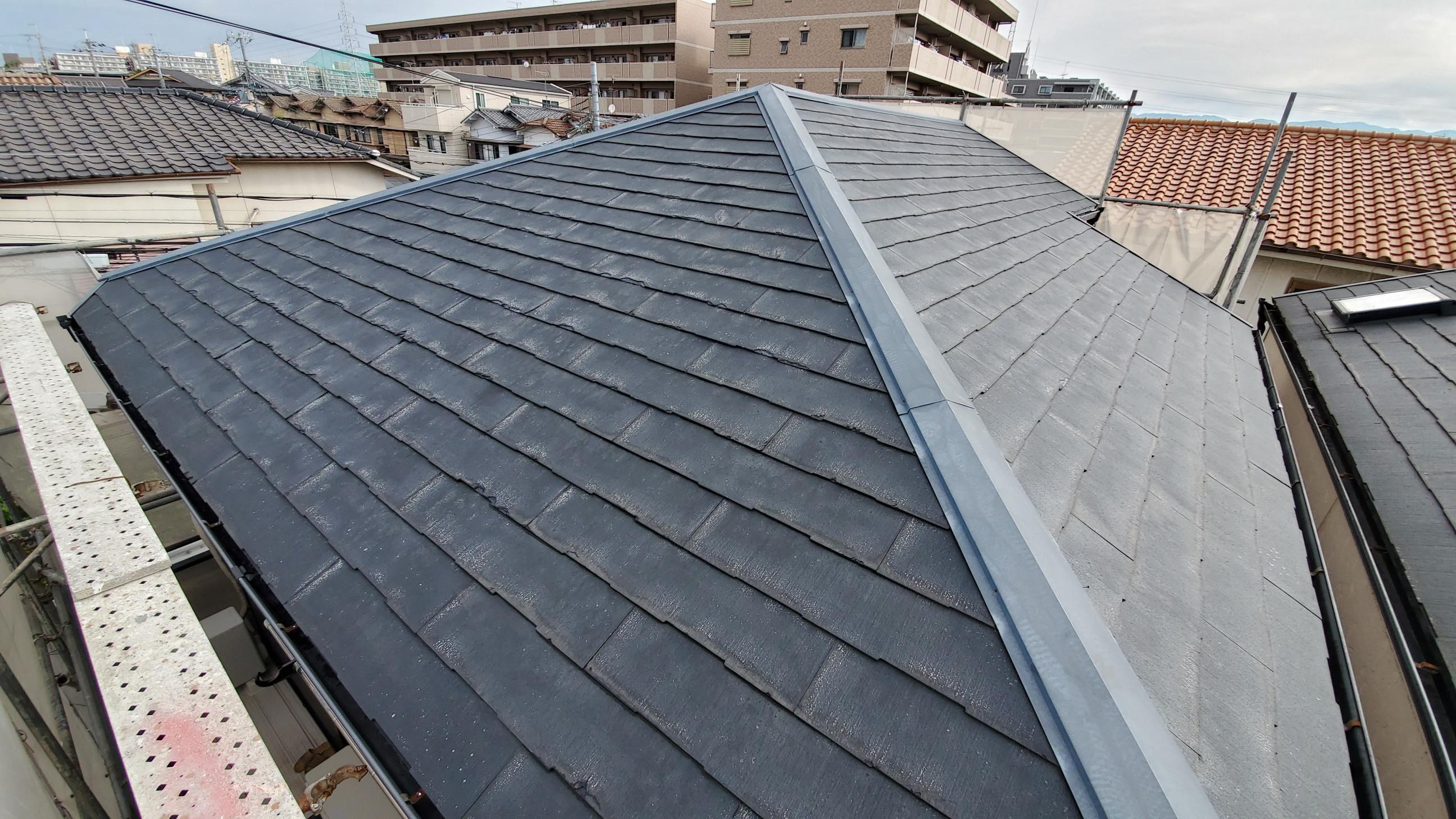 屋根葺き替えビフォー画像