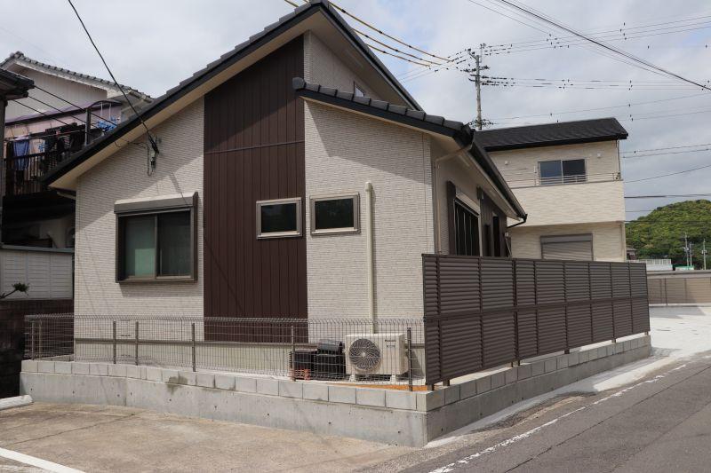 20坪程度の平屋住宅です。2LDKでコンパクトな住まい