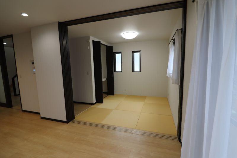 長崎市八つ尾町新築工事完成しました。