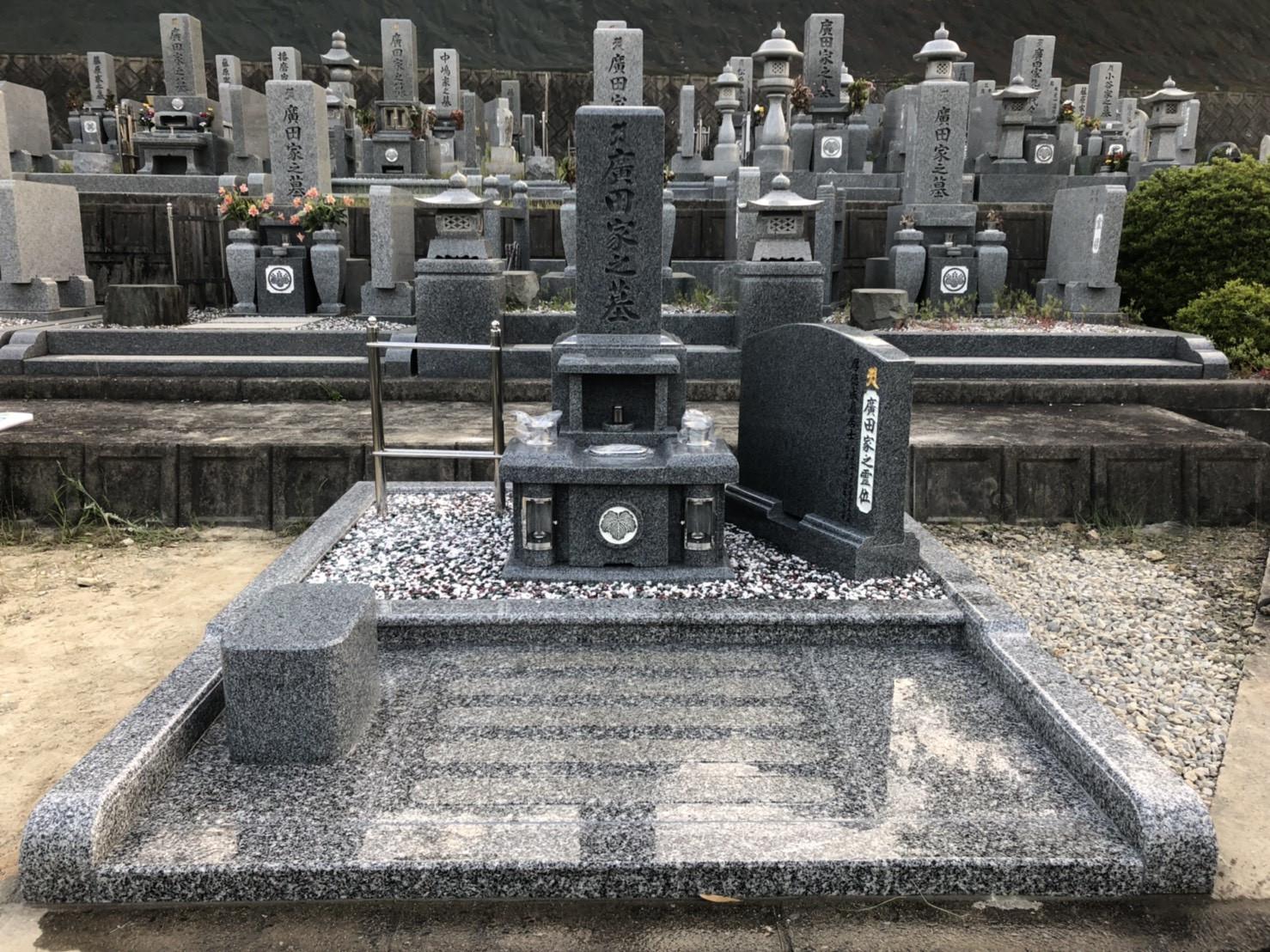 お墓の施工事例 画像1