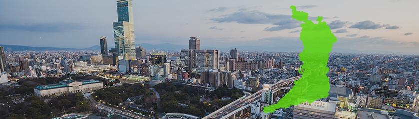 大阪 探偵調査対応地域アイキャッチ画像