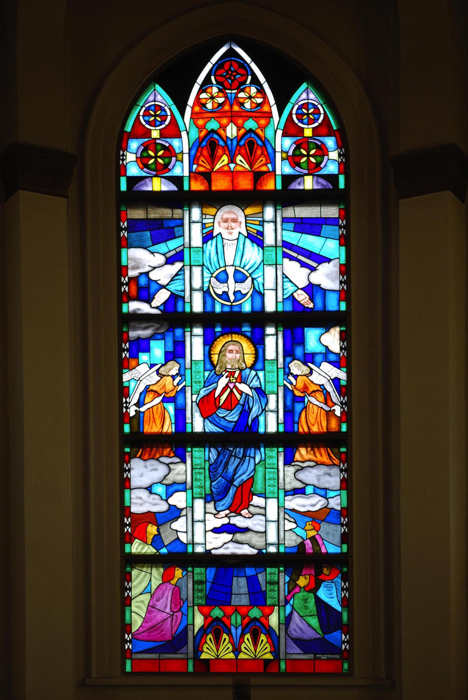 久留米カトリック教会画像1