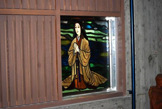 長崎26成人記念館 細川ガラシャ婦人画像
