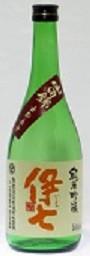 岡山県の地酒   伊七 純米吟醸 山田錦五割五分    生   720ML