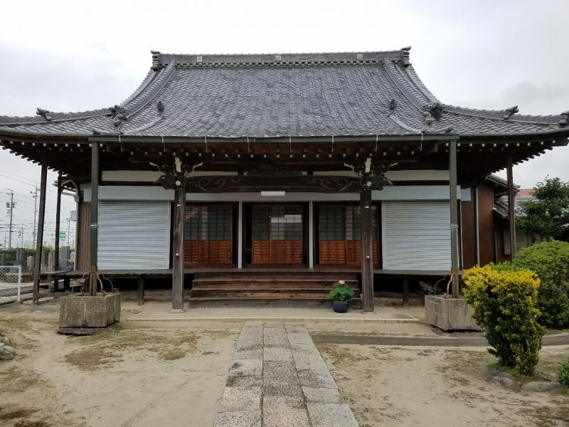 お寺改修工事