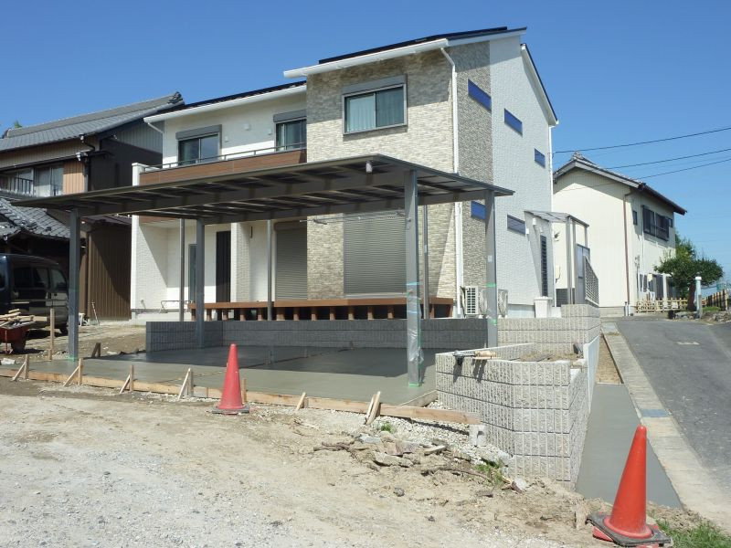 S様邸新築外構工事