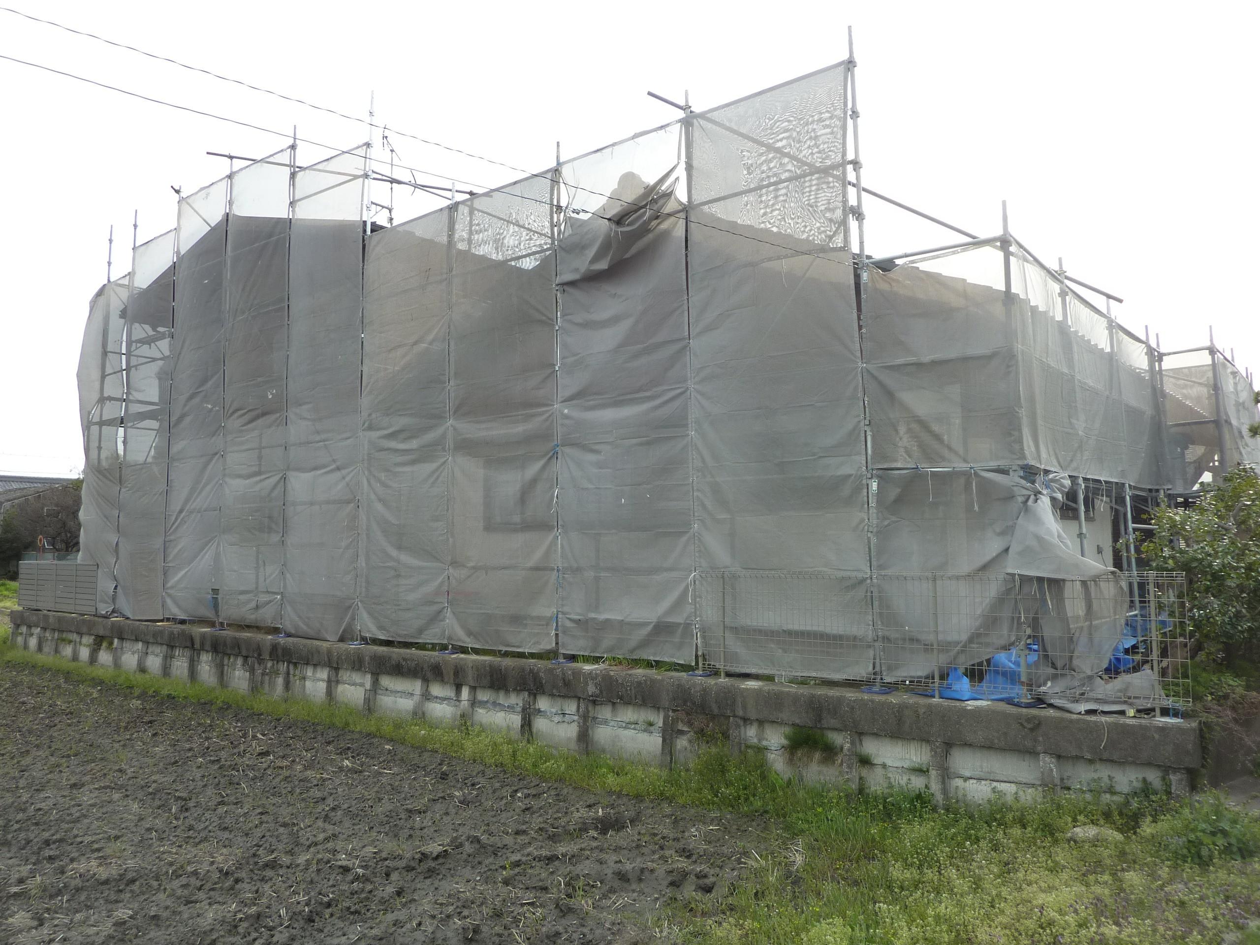 H様邸塗装工事