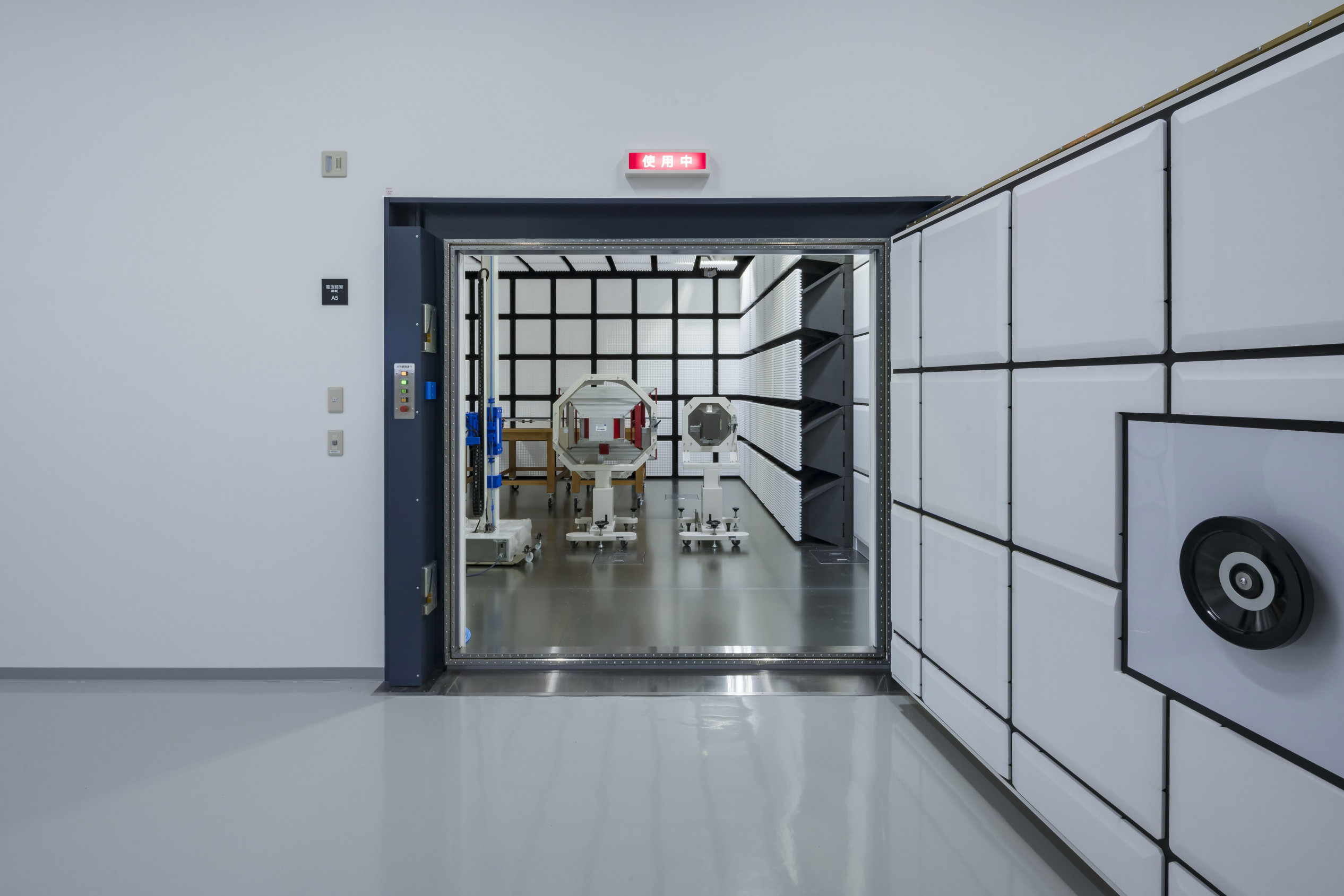 JQA彩都電磁環境試験所電波暗室棟別棟増築工事