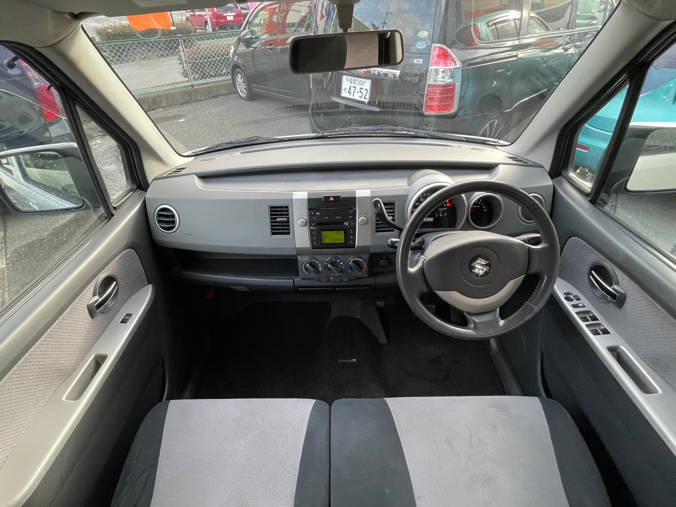 ワゴンR FX-Sリミテッド CD スマートキー 純正エアロ 後期モデル Tチェーン