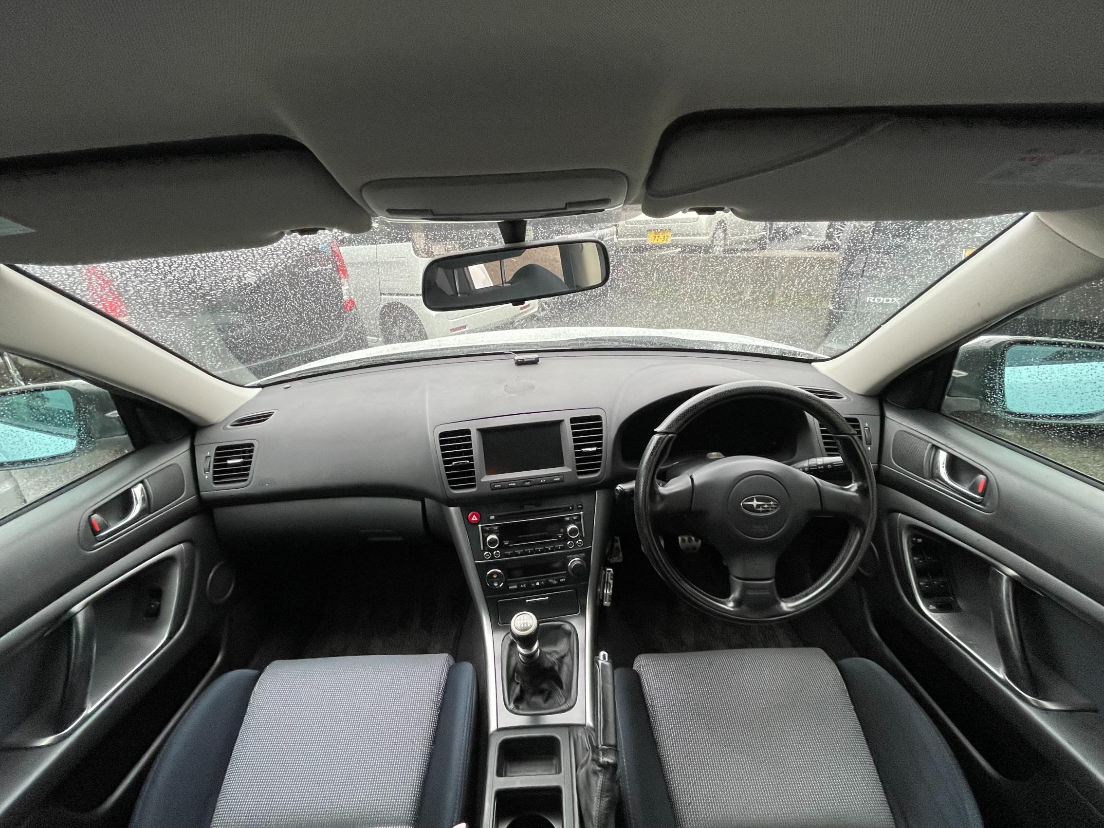 レガシー B4 3.0RスペックB 4WD 6MT HDDナビ Bカメラ CD録音 DVD再生 ETC HID キーレス 買取車 現状渡し