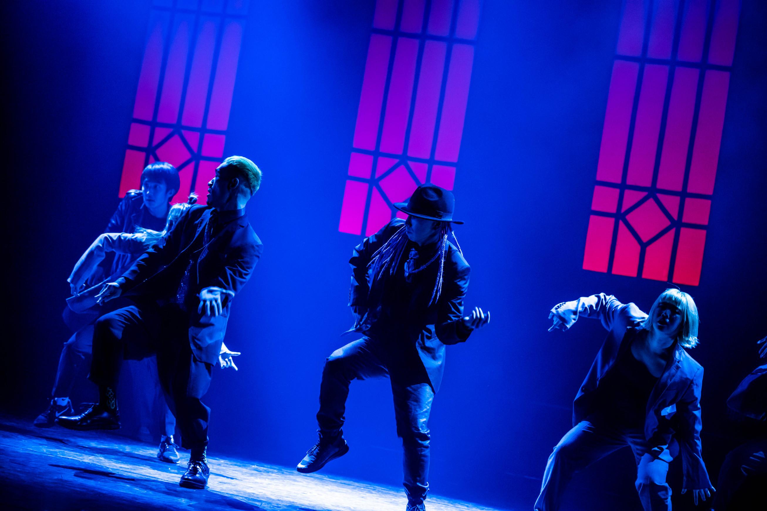 舞台照明イメージ