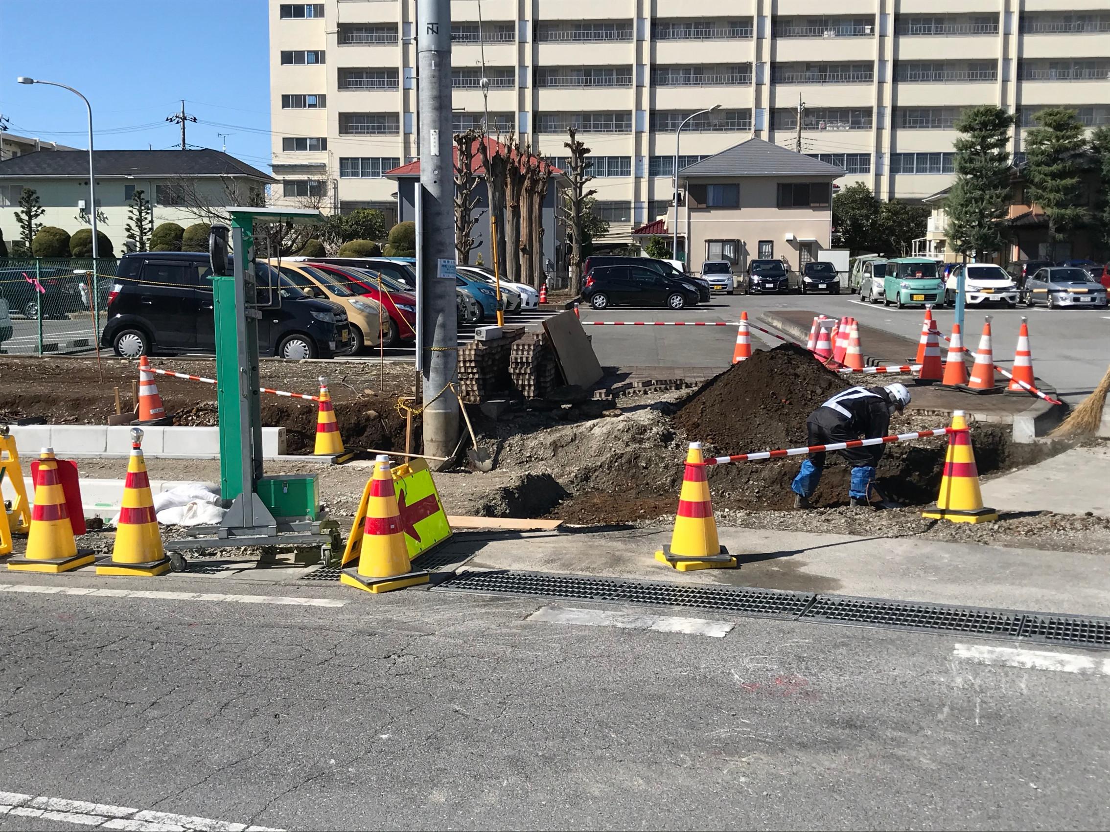 宇都宮道路改修工事画像1