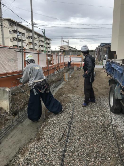 住之江外構工事👷♀️ 作業中です。画像1