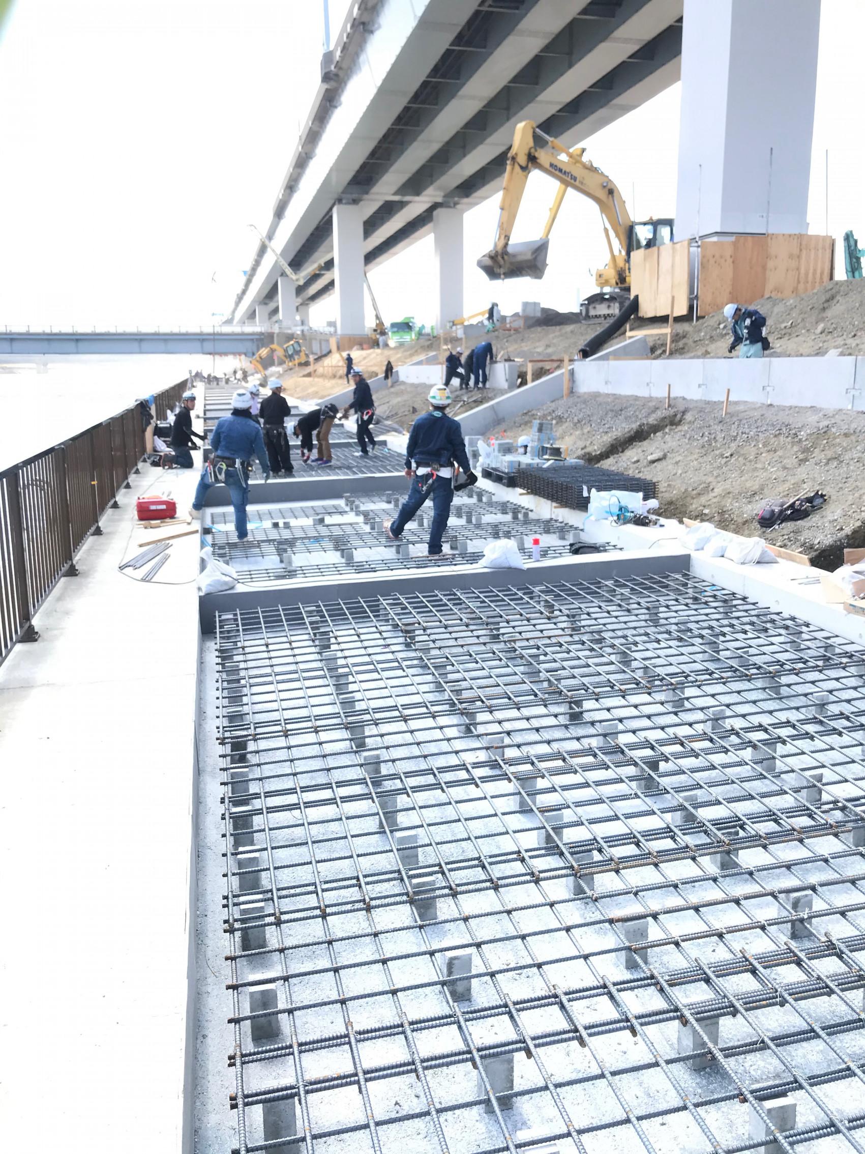 荒川河川工事画像1