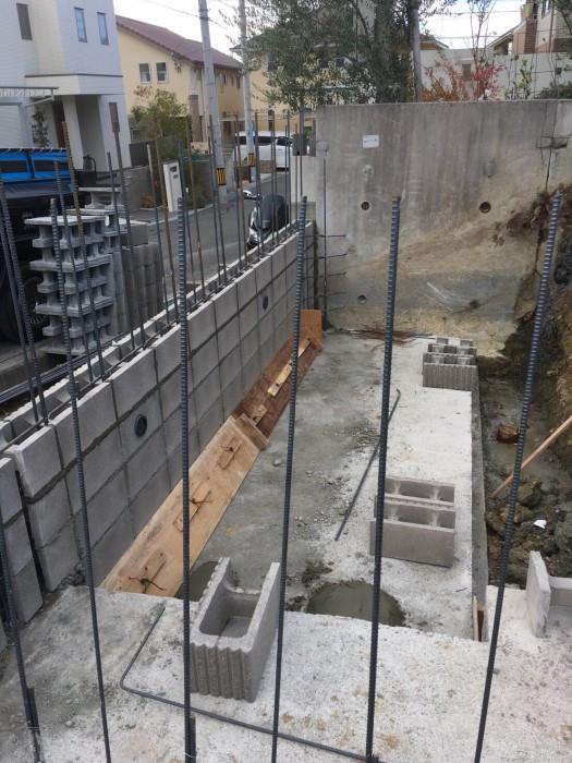 彩都地区にて外構工事作業中画像1