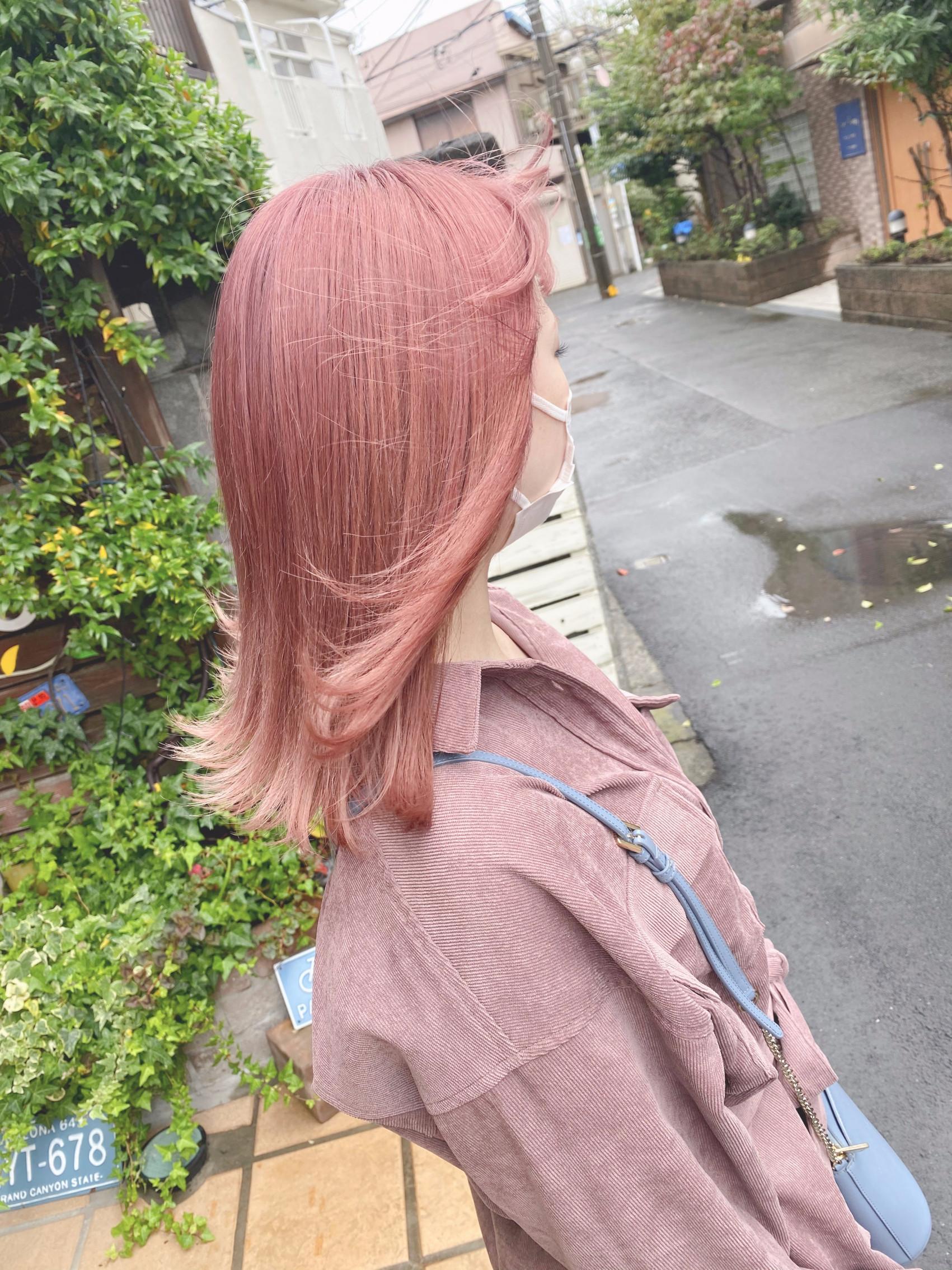 Pale  pink  colorの写真